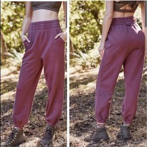 Free People Slouch it joggers sweatpants